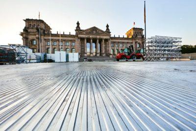 Arena Panels - Einsatz zum Kirchentag in Berlin