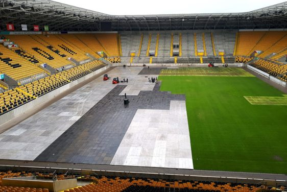 Arena Panels - Application for lawn in the stadium