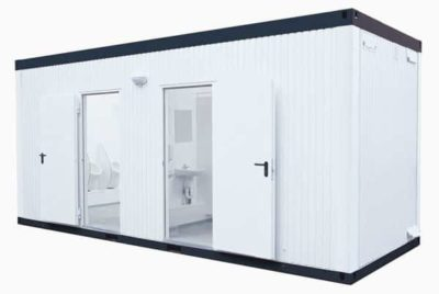 WC-Conatiner Damen-Herren, Ansicht