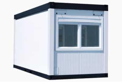 Raumcontainer mit Fenstern