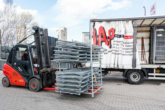 Hamburg barrier 2.00 m foldable