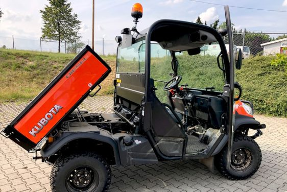 Produktionsfahrzeug Kubota