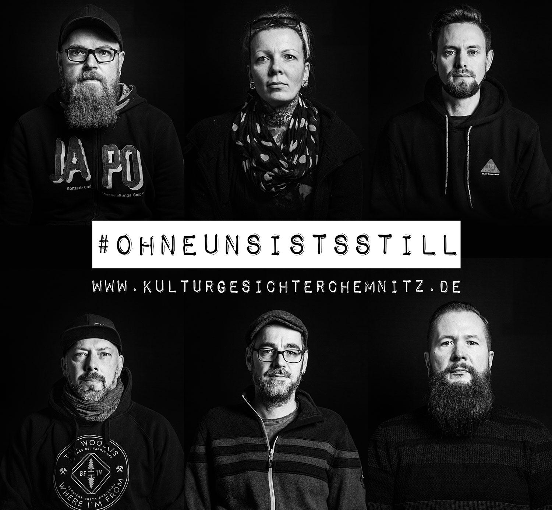 #ohneunsistsstill - Kulturgesichter Chemnitz