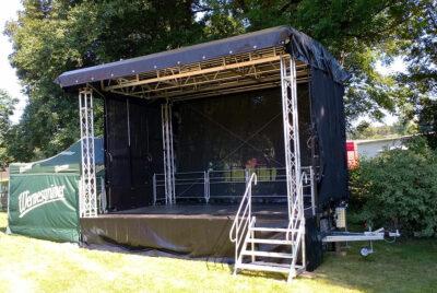 Trailer stage 6x4m